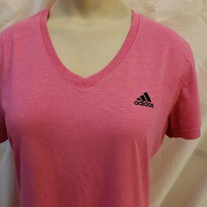 Adidas Ultimate 2.0 v-neck tshirt, size medium